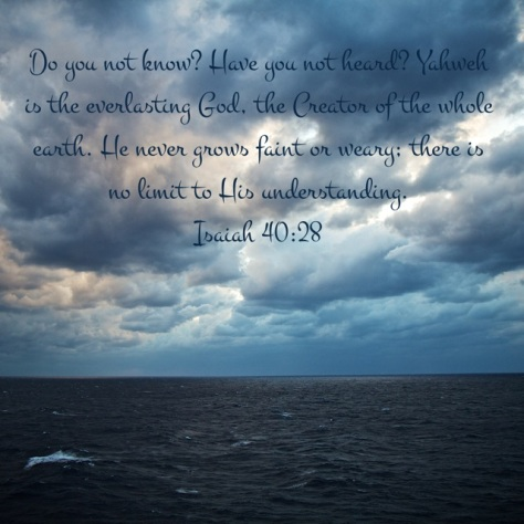 Isaiah 40-28
